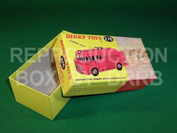 Dinky #276 Airport Fire Tender - Reproduction Box